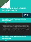 Historia de La Música de Venezuela