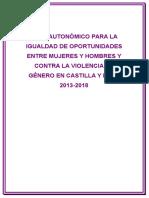 Plan Violencia de Genero 2013-2018
