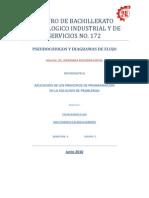 pseudocodigos CBTis172