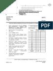 kertas 2 matematik format baru