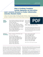 2012 Cath Lab Consensus Document