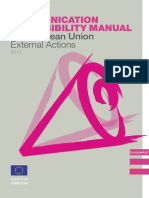 Communication and Visibility Manual Europe for CItizens
