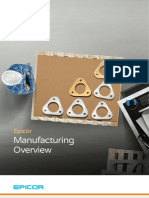 Epicor ERP Manufacturing Overview