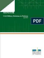 MonitorOnCivil-MilitaryRelationsinPakistan Apr012015 Apr302015