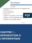 Chapitre1 Introduction Linformatique