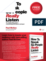 How To Speak So People Really Listen Sample Chapter