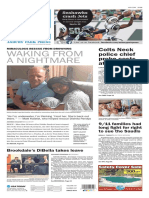 Asbury Park Press front page Monday, Oct. 3 2016
