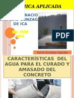 Caracteristicas Del Agua Para El Curado y Amasado Del Concreto