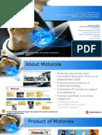 Operations Management Motorola Kelompok 1-1
