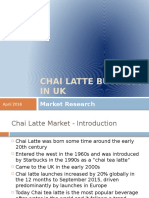 Chai Latte Business in Uk