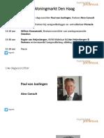 Presentatie Haagse Woningmarkt 29-9-16