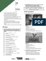 Mosaic TRD1 Tests U1 Speaking