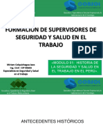 Historia de SST en El Perú