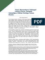 Islam [Khas] Nusantara Sebagai Representasi Poros Tengah Sekaligus Kiblat Ketiga Islam Dunia