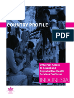 Country Profile SRH Indonesia