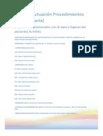Procedimientos Relacionadados Con El Aseo e Higiene Del Paciente. Cap. V