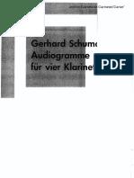 Audiogramme(Gerhard Schum