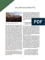 Plataforma ¡Democracia Real YA!