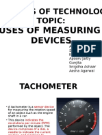 Use of Measuring Devices