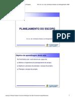 06 - Planejamento de Escopo Engenharia de Software