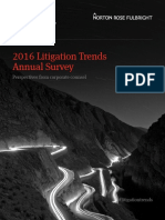 12ème édition de l'étude annuelle sur les tendances en matière de contentieux de Norton Rose Fulbright