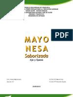 PROYECTO MAYONESA