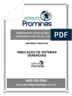Módulo 1 - Simulação de Sistemas Gerenciais