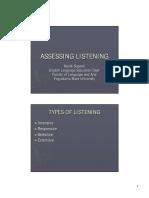 Assessing listening Ppm