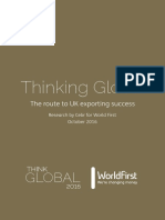 Think Global WorldFirst October 2106