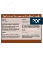 Mike's Professional Development Models