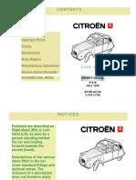 2cv Owners Manual