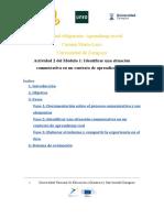 Actividad 2 Módulo 1 (ECOCAM4ed)