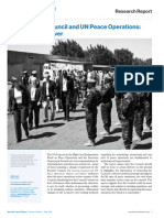 Research Report Peace Operations May 2016