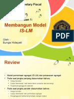 Membangun Model is-LM