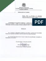 Calendário Acadêmico 2016 RESOLUCAO_conac_010_2016