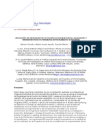 Aplicación Del Despliegue de La Función de Calidad Para La Evaluación y Mejoramiento de Un Programa de Postgrado en Ingeniería