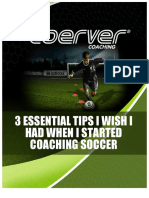 3 Tips eBook Metodo Coerver