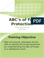 ABCs of Fall Protection