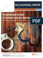 Facilitation in the Criminal Justice System
