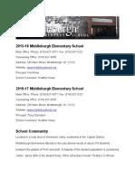 middleburgh school profile