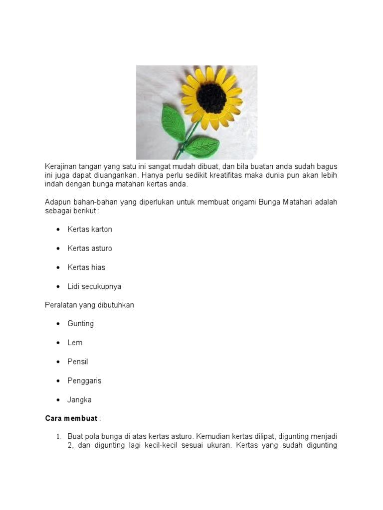87 Gambar Bunga Matahari Di Kertas Paling Keren Gambar Bunga