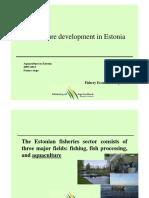 Aquaculture Estonia Koitmaa