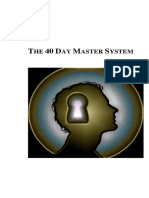 The 40 Day Master System