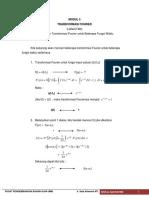 Modul 5 Transformasi Fourier
