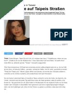 PJZ-Studentin Linda in Taiwan_ Die Fremde Auf Taipeis Straßen _ Frankfurter Neue Presse