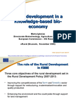 13 Rural Development in a Knowledge-based Bio-economy