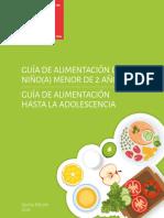 GUIAALIMENTACION-MENOR2AÑOSADOLESCENCIAQUINTAED2016