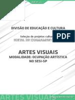 Artes Visuais - Ocupação Artística - sesi