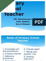 Roles of Primary School Teacher