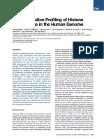 High-Resolution Profiling of Histone Methylation